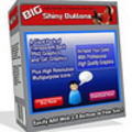 Thumbnail BIG Shiny Buttons glassy - Master Resale Rights